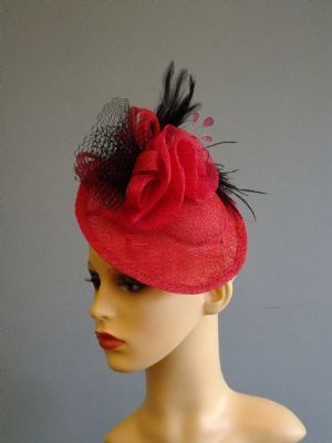 Race Day Fascinators   PINK LADY